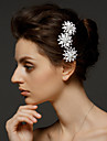 Women\'s Alloy Headpiece - Wedding/Special Occasion Hair Combs 1 Piece