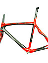 NEASTY Vägram Full Karbon Cykel Ram # Glansig 12K 50/52/56cm cm 19.7/20.5/22 tum
