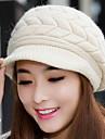 Women Warm Earmuffs Duck Tongue Knitted Cap