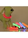 Chat / Chien Colliers Lampe LED / Ajustable/Reglable Solide Rouge / Vert / Bleu / Incanardin / Jaune / Orange Nylon
