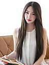les femmes perruque synthetique droite chaleur style coreen perruques de cheveux resistants