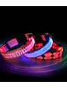 Chat / Chien Colliers Etanche / Lampe LED Rouge / Bleu / Incanardin Nylon