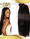 3pcs / lot cheveux bresilienne vierge droites produits 100% cheveux humains prolongation prom queen cheveux bresiliens bundles de tissage