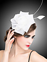 Women\'s Organza Headpiece-Wedding / Special Occasion Fascinators / Flowers / Barrette 1 Piece