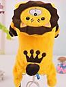Chat / Chien Costume / Manteaux / Pulls a capuche / Tenue Jaune Vetements pour Chien Hiver Animal / Tiares & CouronnesMariage / Cosplay /