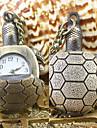 unisex modello tartaruga tasca di quarzo analogico e vigilanza della collana