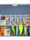 49 st Lock förpackningar / Fiskbete Lock förpackningar Blandade färger # g Uns mm tum,Mjuk plast / Metall / Hårt Plast Drag-fiske