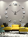Large Metal Home Decor DIY Creative Personality Wall Clock 12S008
