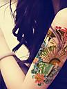 1 Tatouages Autocollants Series de totem Non Toxique Motif Grande Taille Bas du Dos ImpermeableHomme Femme Adolescent Tatouage Temporaire
