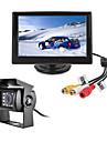 renepai® 5 pouces HD ecran + bus 170 ° hd arriere de voiture camera camera etanche longueur de cable 6m, 10m, 16m, 20m,