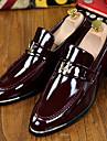 Homme-Bureau & Travail Decontracte Soiree & Evenement--Talon Plat-Confort Nouveaute Chaussures formelles-Mocassins et Chaussons+D6148-