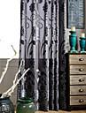 en panel jacquard blomma sammetsdraperi två färger gardin drapera