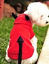 Pisici Câini Costume Hanorace cu Glugă Roșu Îmbrăcăminte Câini Iarnă Primăvara/toamnă Vampiri Drăguț Cosplay Halloween