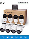 cotier®8ch nvr kits hd mini NVR 720p / 960p / 1080p / p2p / nachtzicht / ip camera n8b-mini