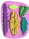 lämnar bladformad fondant tårta choklad silikon formar, dekoration verktyg bakeware