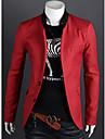 MEN - Costume & Blazere ( Amestec Bumbac ) Informal / Muncă Decolteu În V - Mânecă Lungă