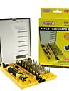 rewin® verktygs 45pcs professionell elektrisk skruvdragare set