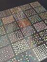 Blomma/Abstrakt - Finger/Tå - 3D Nagelstickers - av Andra - 30 - styck 6.5X5X0.5 - cm