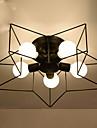 60 Montage du flux ,  Traditionnel/Classique Retro Peintures Fonctionnalite for Style mini MetalSalle de sejour Chambre a coucher Salle a