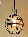 Traditionnel/Classique / Rustique / Vintage / Retro LED Peintures Metal Lampe suspendueSalle de sejour / Chambre a coucher / Salle a