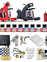 Beginner Tattoo Starter kits 2 Machines 10 Ink Sets Top U.S.A Tattoo Ink