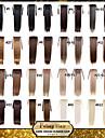 excellente qualite synthetique longue ligne droite ruban queue de cheval postiche 22 pouces - 16 couleurs disponibles