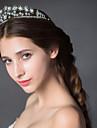 Women\'s Rhinestone / Alloy Headpiece - Wedding Tiaras 1 Piece