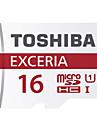 original toshiba exceria 16gb microSDHC UHS-1 minneskorts 48m / s