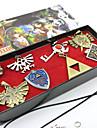 Smycken Inspirerad av The Legend of Zelda Cosplay Animé/ Videospel Cosplay Accessoarer Halsband / Brosch Silver Legering Man / Kvinna