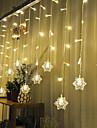 noel barres rideau de KTV scintillement de mariage lumieres de cascade decoration des lampes 3M de lumiere de chaine etanche