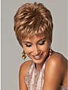 Europa och Amerika kvinnor blont syntheic peruk förlängningar hög kvalitet
