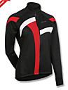 Bouger® Maillot de Cyclisme Femme Manches longues VeloEtanche Respirable Garder au chaud Pare-vent Design Anatomique Doublure Polaire