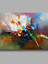 till hands sträckt handmålade abstrakt modern olje- målarduk vägg konst hem deco en panel