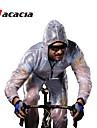 Acacia® Cykeljacka Unisex Lång ärm Cykel Vattentät Andningsfunktion Snabb tork Vindtät Regnsäker Lättviktsmaterial ReflexremsaRegnjacka