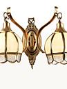 Style mini / Ampoule incluse Chandeliers muraux,Traditionnel/Classique E26/E27 Metal