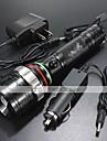 LED-Ficklampor LED 4.0 Läge 1200 Lumen Vattentät / Laddningsbar / Stöttålig / Strike Bezel / Taktisk / Nödsituation Cree XM-L T618650 /