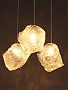 Modern / Traditionell/Klassisk / Rustik/Stuga / Vintage Flush Mount Lights Glas Hängande lamporLiving Room / Bedroom / Dining Room /