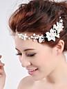 high-end shanzuan pärla huvudbonad brud bröllop smycken hängsmycke kedja pannan mellan ögonbrynen 1st