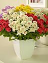 Silke / Plast Chrysanthemum Konstgjorda blommor
