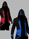 Inspired by Assassin\'s Creed Conner Anime Cosplay Costumes Cosplay Hoodies Patchwork / Print Red / Blue Long Sleeve Top