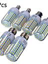 20W E14 B22 E26/E27 LED-lampa T 126 SMD 2835 1850 LM Varmvit Kallvit Dekorativ AC 220-240 V 5 st