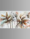 fantasi / Botanisk / Skojigt / Modern / Popkonst Canvastryck En panel Redo att hänga , Horisontell