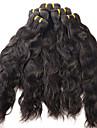 Tissages de cheveux humains Cheveux Bresiliens Ondulation 12 mois 1 Piece tissages de cheveux