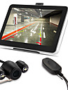 7 voiture navigation GPS av Bluetooth 4gb + carte + camera de recul sans fil