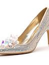 Women\'s Shoes Suede Stiletto Heel Heels / Comfort Heels Party & Evening / Dress / Casual Black / Beige