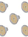 9W GU5.3(MR16) LED-spotlights MR16 60 SMD 2835 720 lm Varmvit / Kallvit Dekorativ AC 220-240 / AC 12 V 5 st