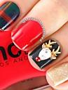 10 - Bijoux pour ongles / Autre decorations - Doigt / Orteil / Autre - en Bande dessinee / Fruit / Fleur / Abstrait / Adorable / Punk /