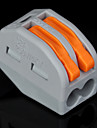 100st pct-212 400V / 4kV / 32a universalkontakt 0.08-2.5mm² enkel / 0.08-4.0mm² multitråd 9-10mm strippa längd