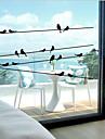 Klassisk - Djurtryck - Fönster klistermärken