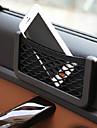 multifunktions elastisk håv bil lagring sträng för mobiltelefon och småsaker med 3M dubbelhäftande tejp